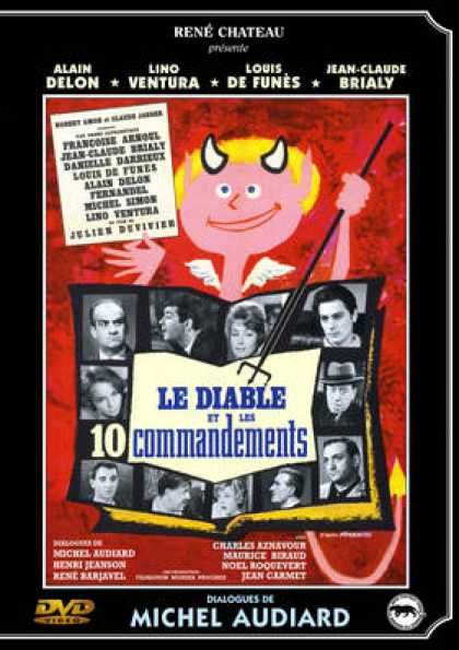 French DVDs - Le Diable Et Les 10 Commandements