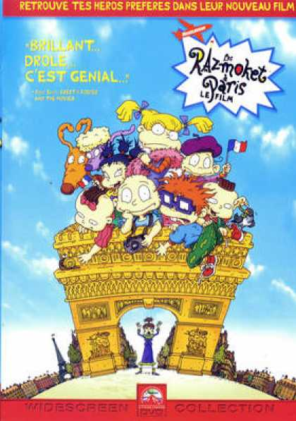 French DVDs - Les Razmoket A Paris