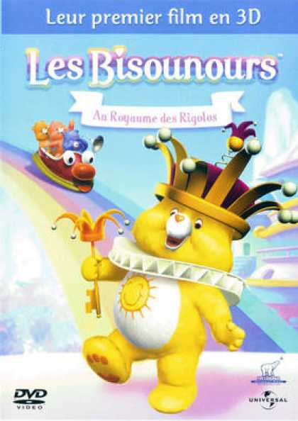 French DVDs - Les Bisounours - Au Royaume Des Rigolos
