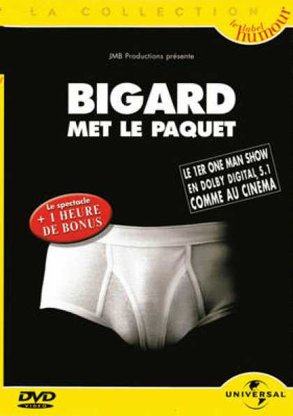 French DVDs - Bigard Met Le Paquet