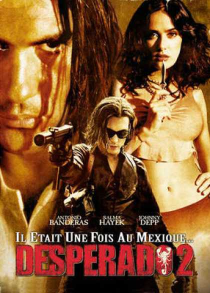 French DVDs - Once Upon A Time In Mexico