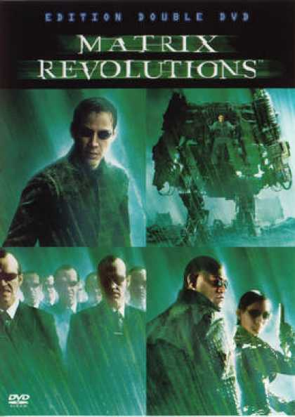 French DVDs - Matrix Revolutions
