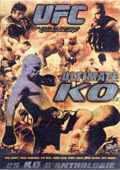 French DVDs - Ufc Ultimate Ko Vol.1