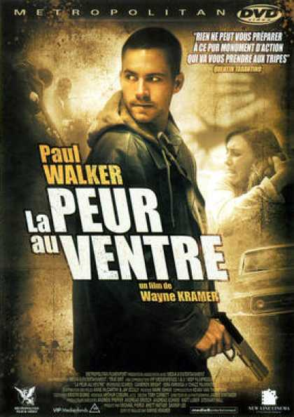 French DVDs - La Peur Au Ventre