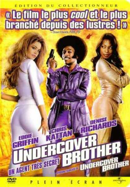 French DVDs - Undercover Brother
