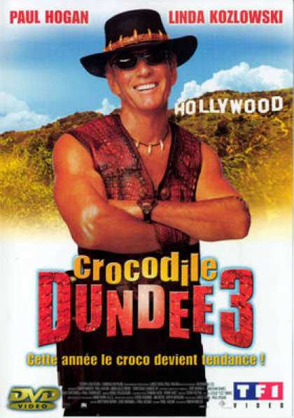 French DVDs - Crocodile Dundee 3