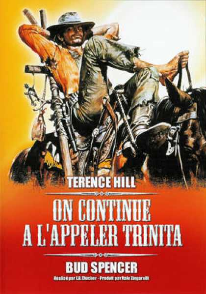 French DVDs - On Continue A L Appeler Trinita