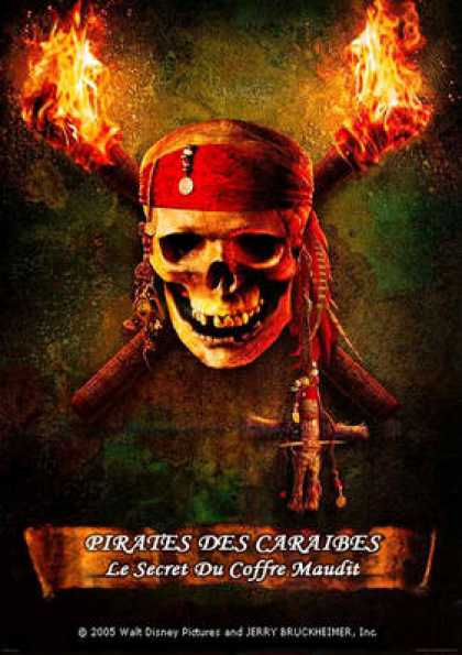 French DVDs - Pirates Of The Caribbean 2