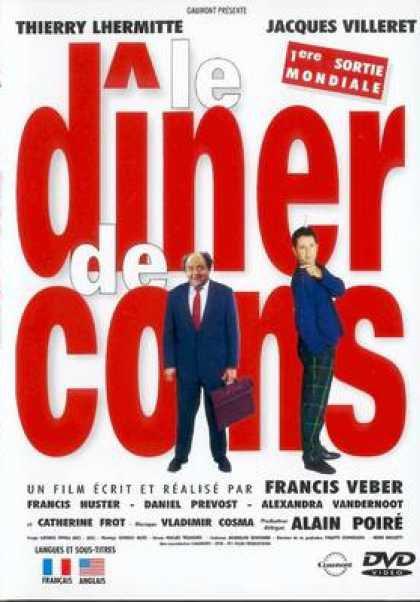 French DVDs - The Diner Of Idiot