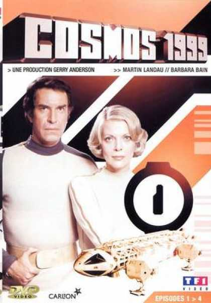 French DVDs - Space 1999 French Vol 1