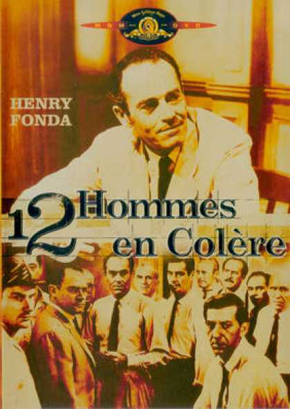 French DVDs - 12 Hommes En Colere