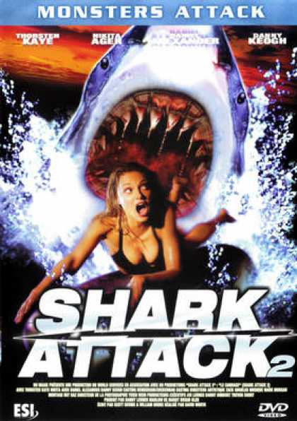 French DVDs - Shark Attack 2