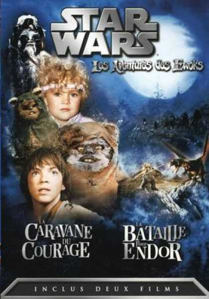 French DVDs - Les Aventures Des Ewoks