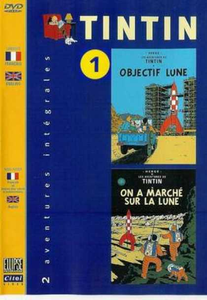 French DVDs - Tintin 1