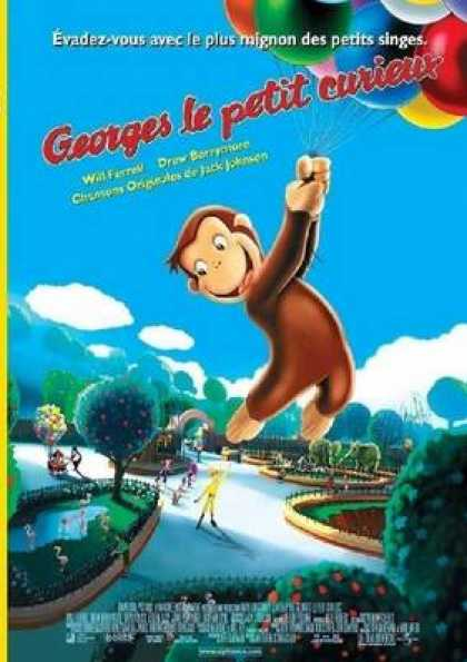 French DVDs - Curious George