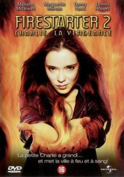 French DVDs - Firestarter 2