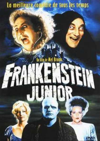 French DVDs - Young Frankenstein