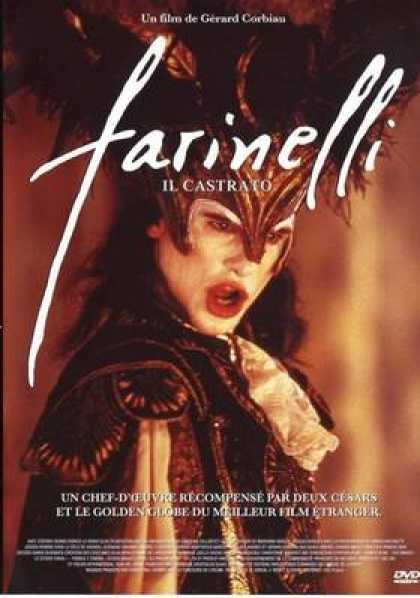 French DVDs - Farinelli