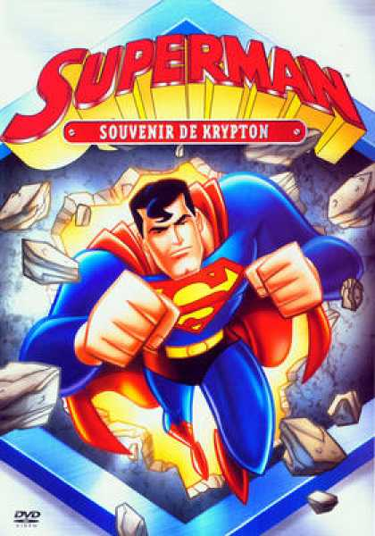 French DVDs - Superman The Last Son Of Krypton
