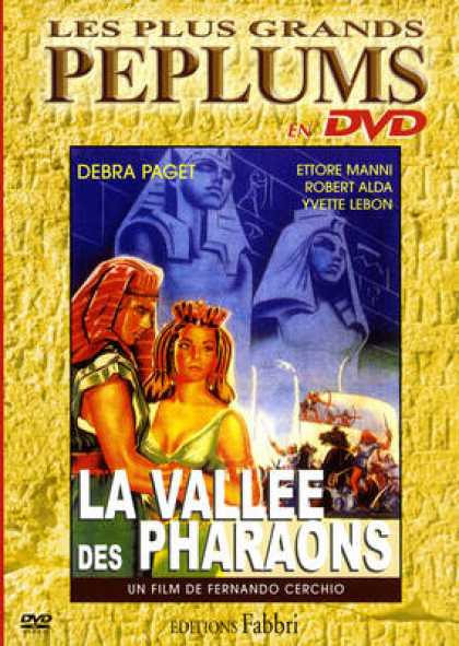 French DVDs - La Vallee Des Pharaons