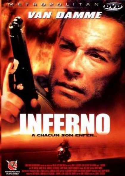 French DVDs - Inferno Van Damme