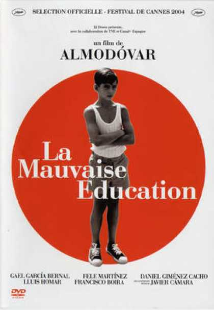 French DVDs - La Mauvaise Education