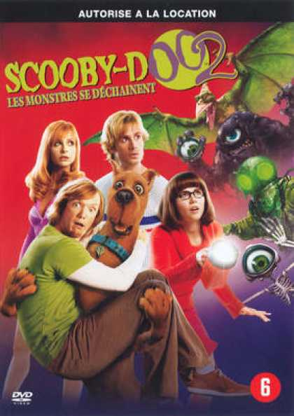 French DVDs - Scooby-Doo 2