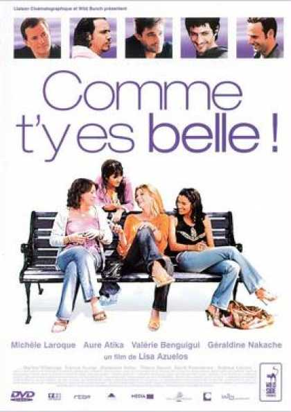 French DVDs - Comme T'y Es Belle