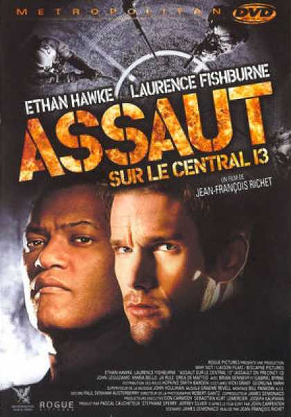 French DVDs - Assault On Precinct 13