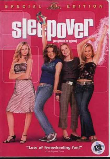 French DVDs - Sleepover French Canadian