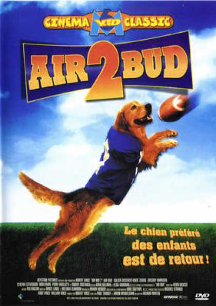 French DVDs - Air Bud 2