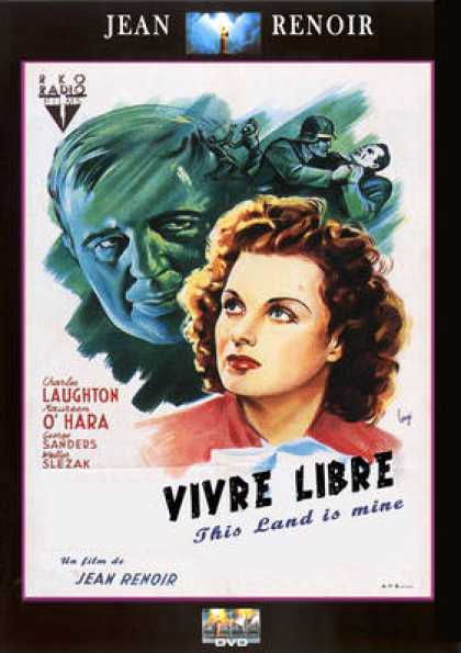 French DVDs - Vivre Libre (This Land Is Mine)