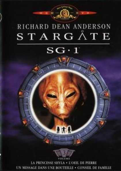 French DVDs - Stargate Sg 1 Vol 3