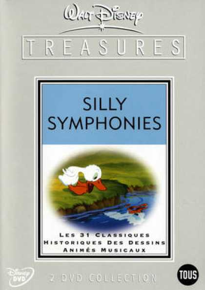 French DVDs - Silly Symphonies CE
