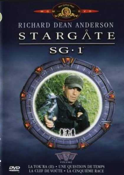 French DVDs - Stargate Sg 1 Vol 5