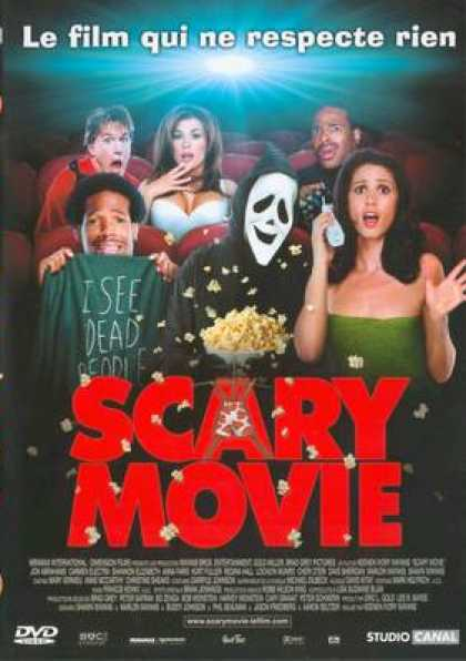 French DVDs - Scary Movie