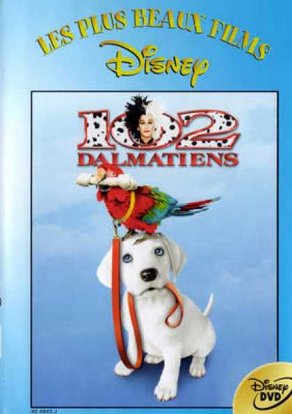 French DVDs - 102 Dalmatians