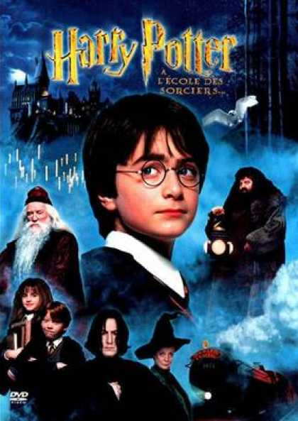 French DVDs - Harry Potter And The Philosophers Stone