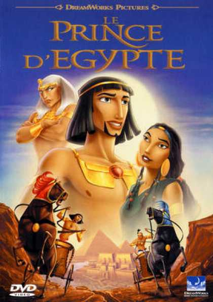 French DVDs - Le Prince D Egypte