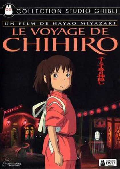 French DVDs - Chihiros Journey