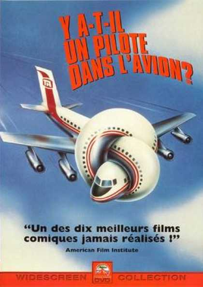 French DVDs - Airplane!