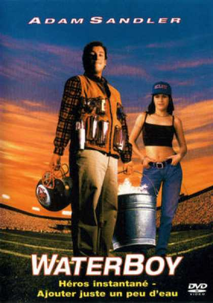 French DVDs - The Waterboy