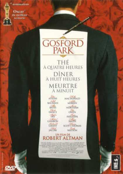 French DVDs - Gosford Park