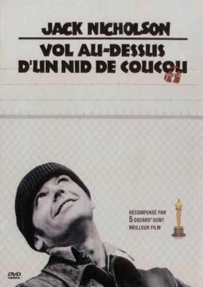 French DVDs - One Flew Over The Cuckoo's Nest