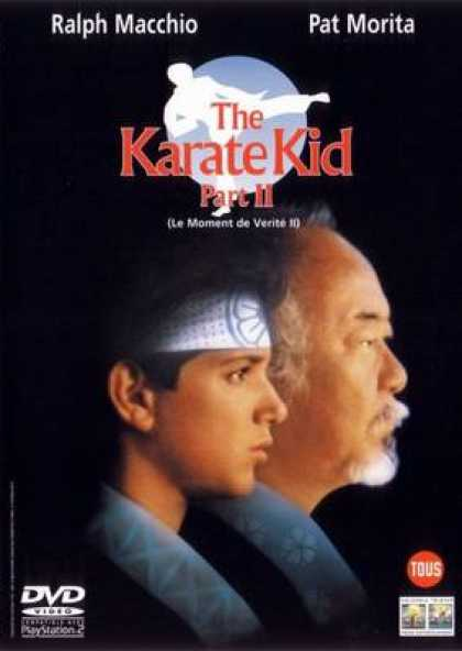French DVDs - Karate Kid 2