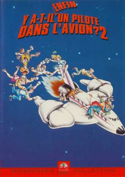 French DVDs - Airplane! 2