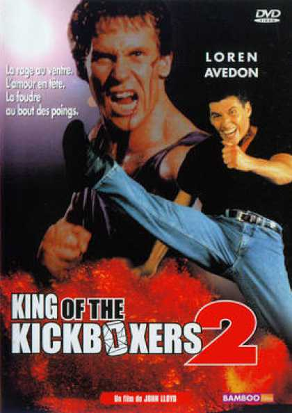 French DVDs - King Of The Kickboxers 2