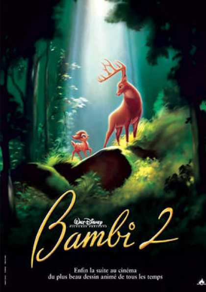 French DVDs - Bambi 2