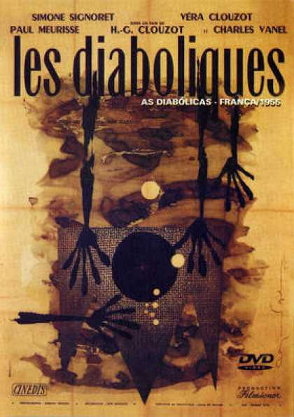 French DVDs - Les Diaboliques (1955) R2 French Subtitled Eng