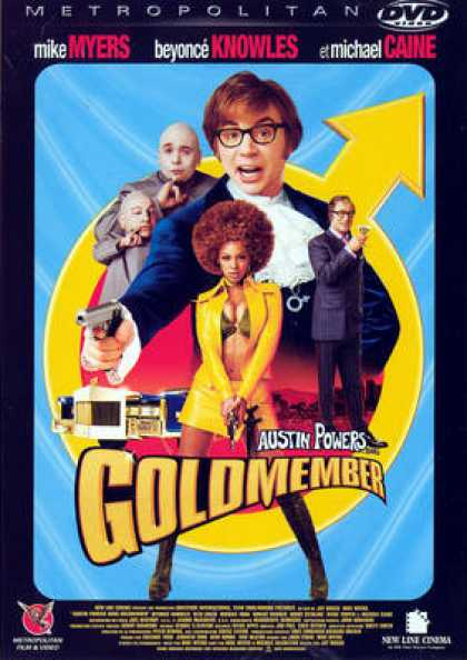 French DVDs - Austin Powers Goldmember